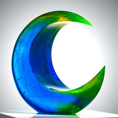 Michaela Smrcek glass sculpture