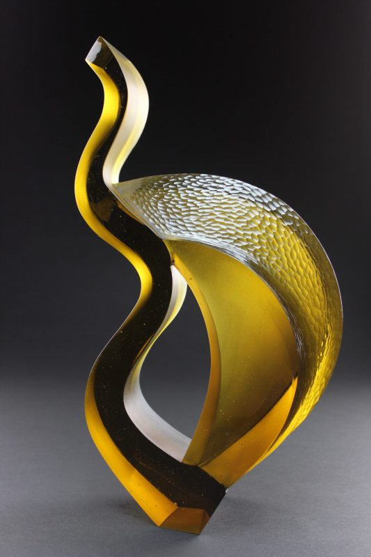 Chad Holliday glass sculpture