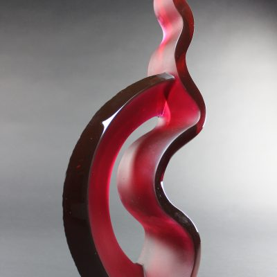 Glass art by Chad Holliday