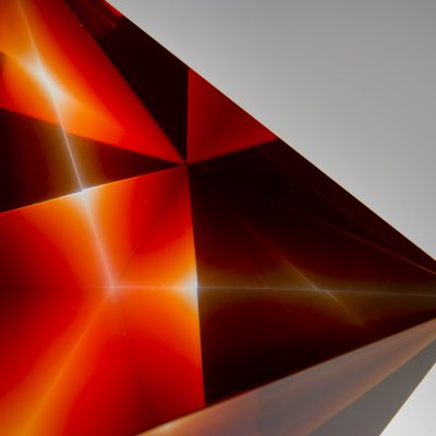 Anthony Scala glass sculpture