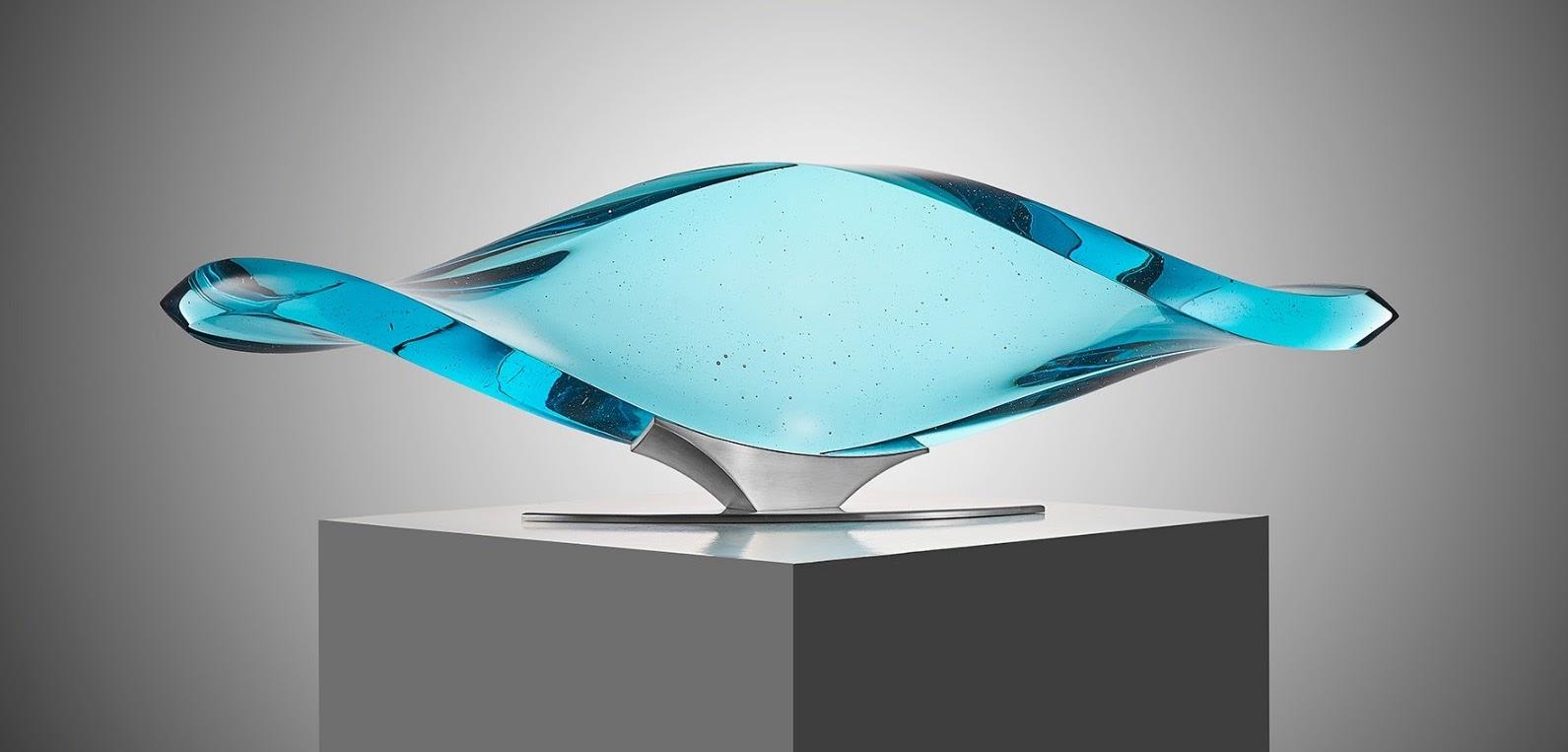 Vlastimil Beranek cast glass art