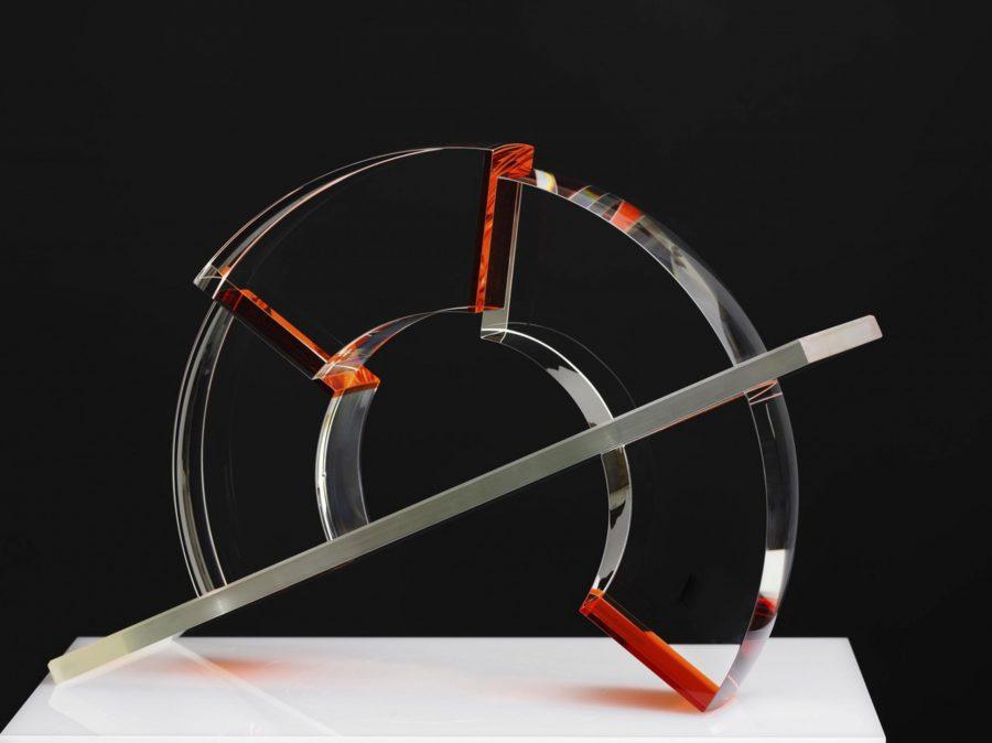 Peter Botos glass sculpture