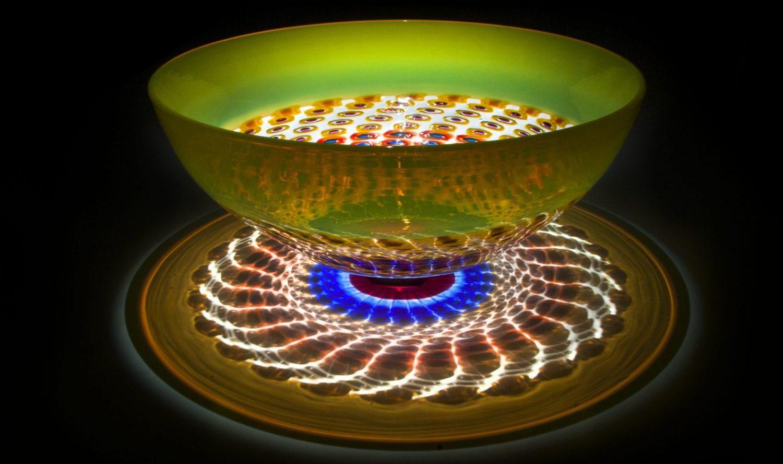Stephen Powell glass sculpture