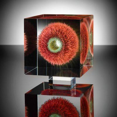 Wilfried Grootens glass sculpture