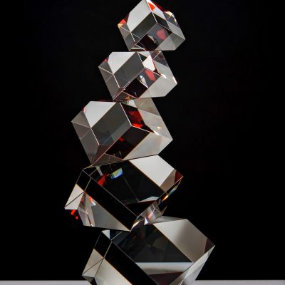 Peter Botos glass sculpture