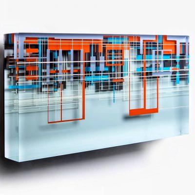 Gyorgy Gaspar glass art