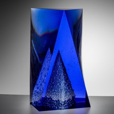 Ivana Masitova Cast glass sculpture
