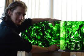Marek Brincko glass art