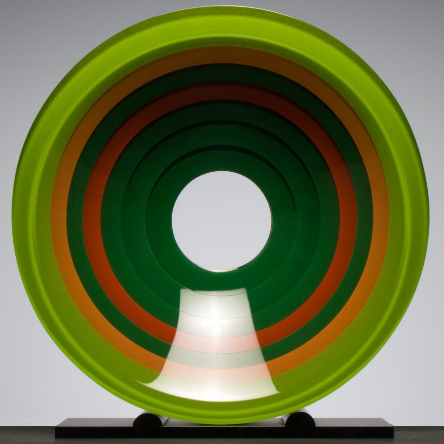Wesley Rasko glass sculpture