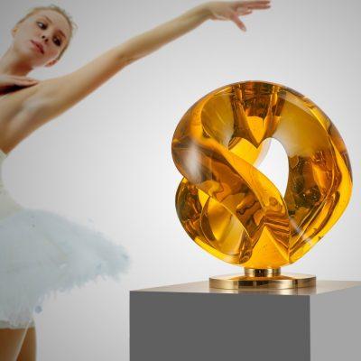 Czech bohemian crystal by Vlastimil Beranek
