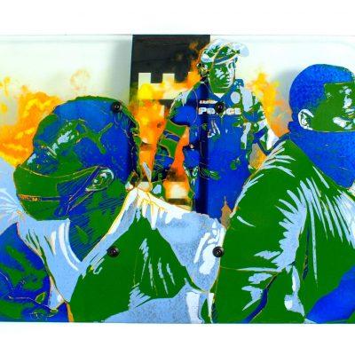 Joseph Ivacic glass street art