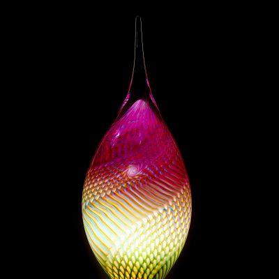 Peter Kuchler III glass sculpture