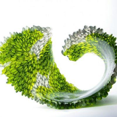 Nina Casson McGarva glass sculpture